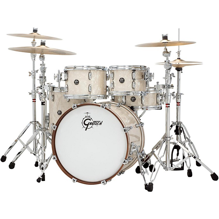 Gretsch DrumsRenown Series 3-Piece Shell Pack with 24 inch Bass DrumVintage Pearl