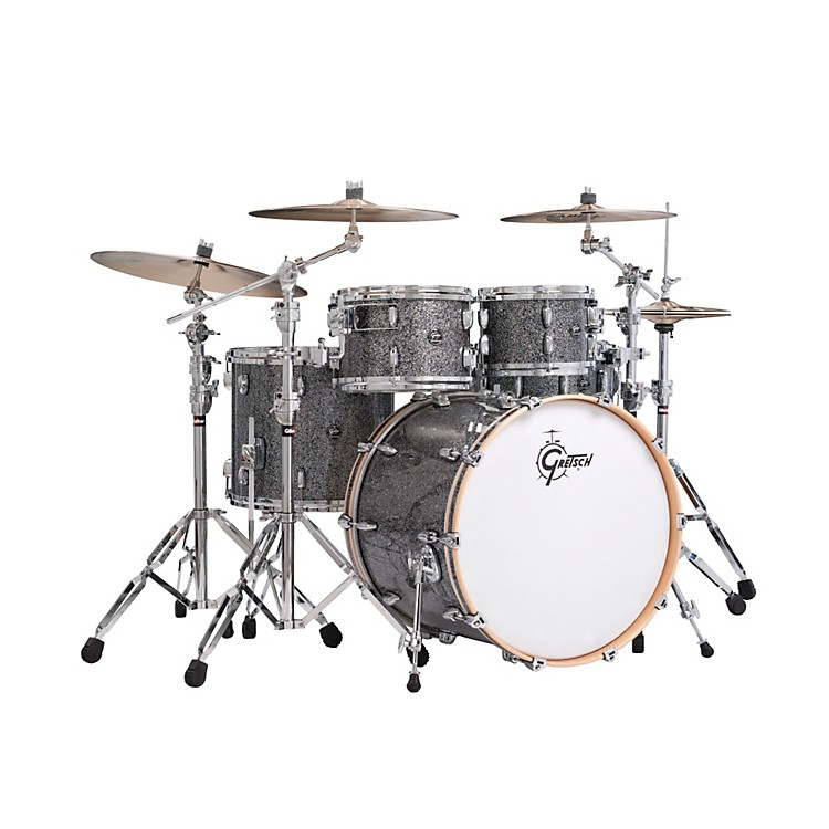 Gretsch DrumsRenown Series 4-Piece Shell PackBlue Metal