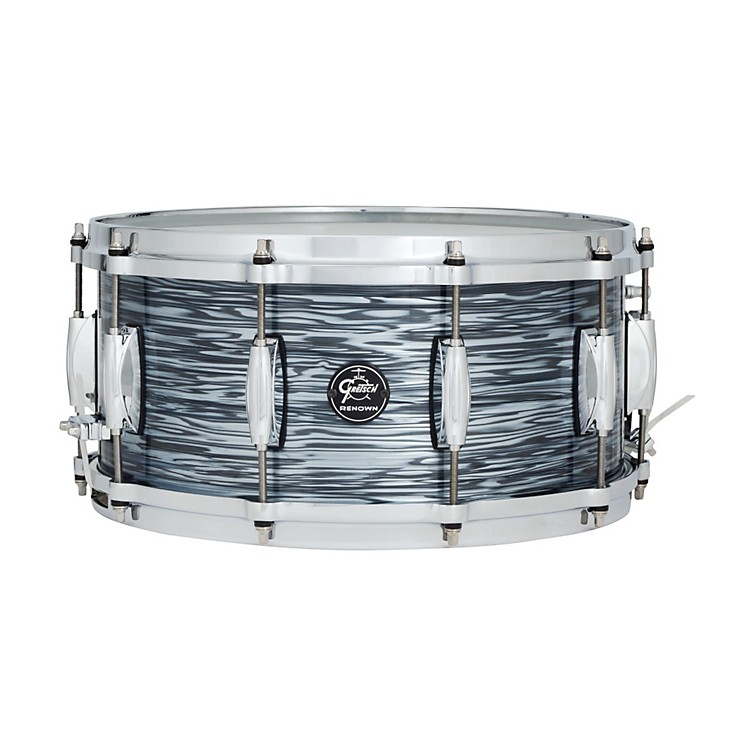 Gretsch Drums Renown Series Snare Drum Silver Oyster Pearl 6.5X14
