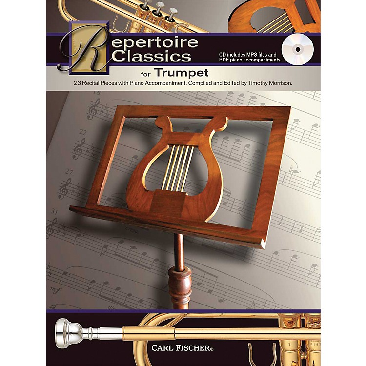 Carl Fischer Repertoire Classics for Trumpet (Book/ Data MP3 CD)