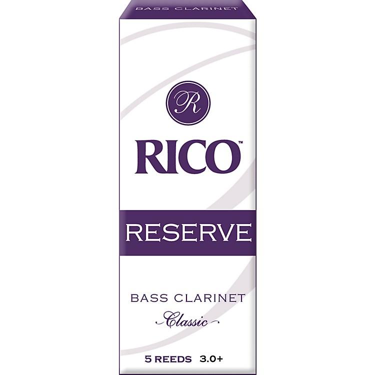 RicoReserve Classic Bass Clarinet ReedsStrength 3+
