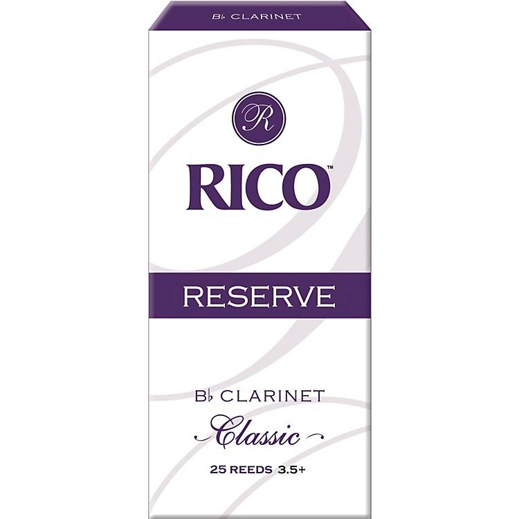RicoReserve Classic Bb Clarinet Reeds Box of 25