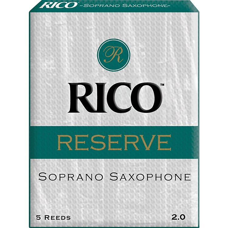 RicoReserve Soprano Saxophone ReedsStrength 2