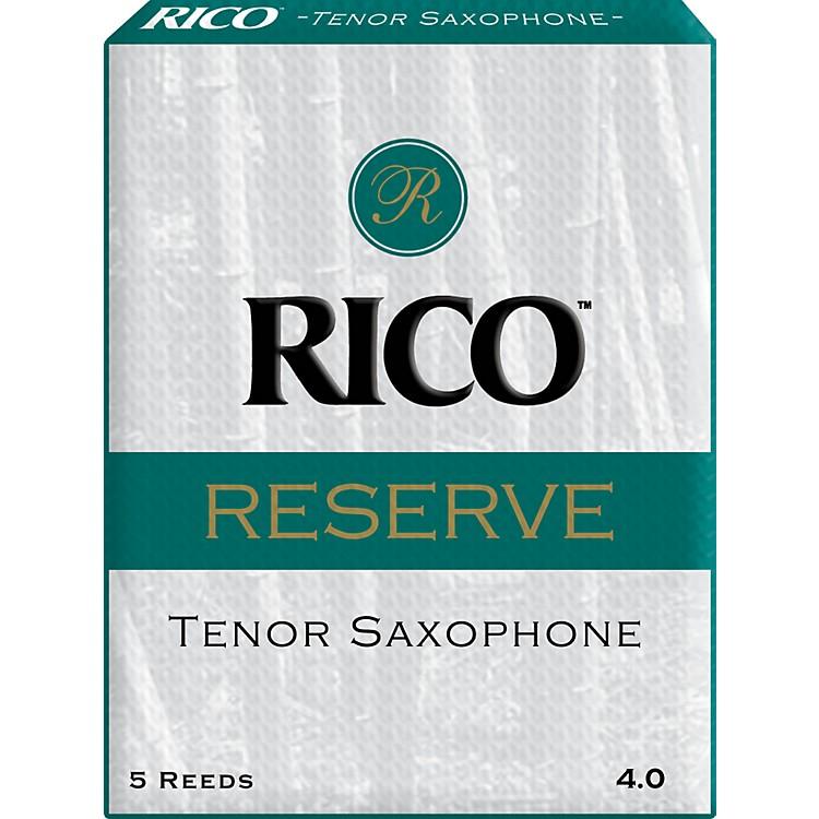 RicoReserve Tenor Saxophone ReedsStrength 4 Box of 5