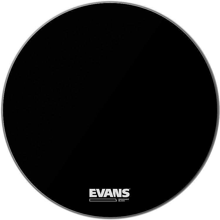 EvansResonant Black Bass Drumhead20 in.