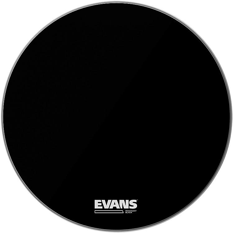EvansResonant Black Bass Drumhead22 in.