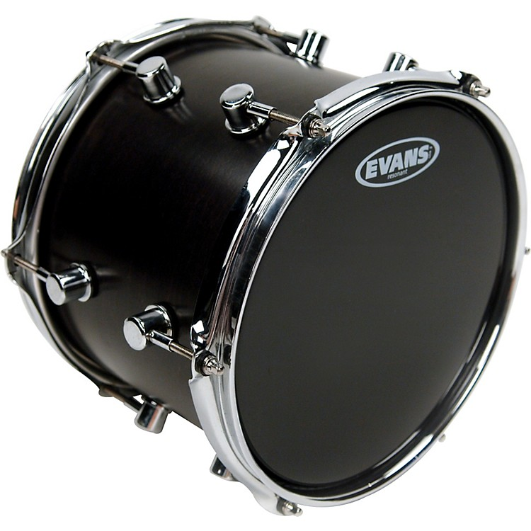 EvansResonant Black Tom Drumhead13 in.