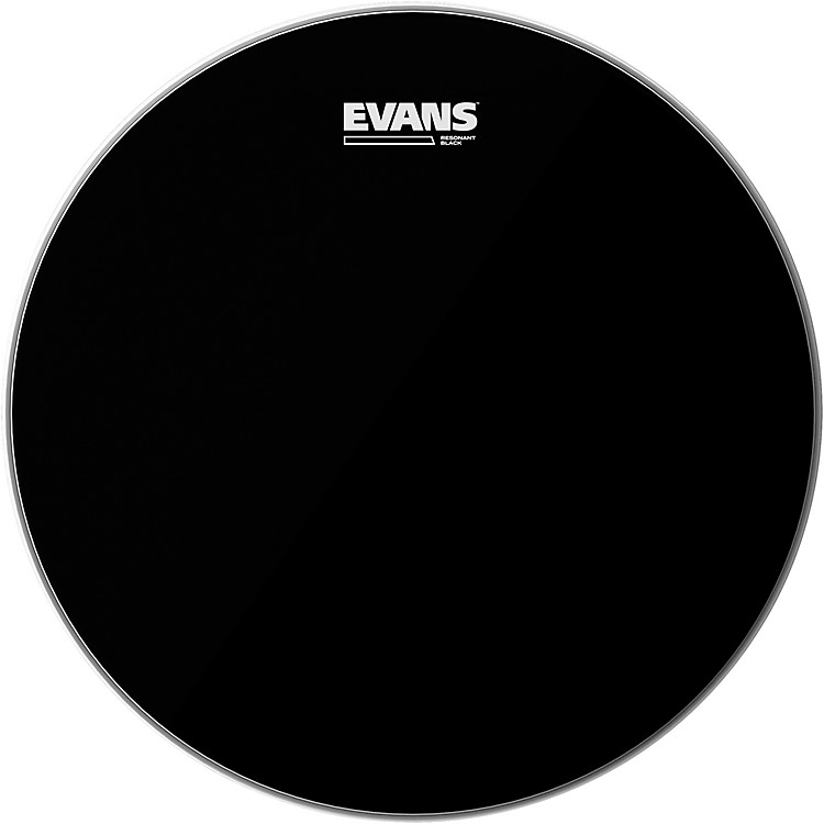 Evans Resonant Black Tom Drumhead  16 in.