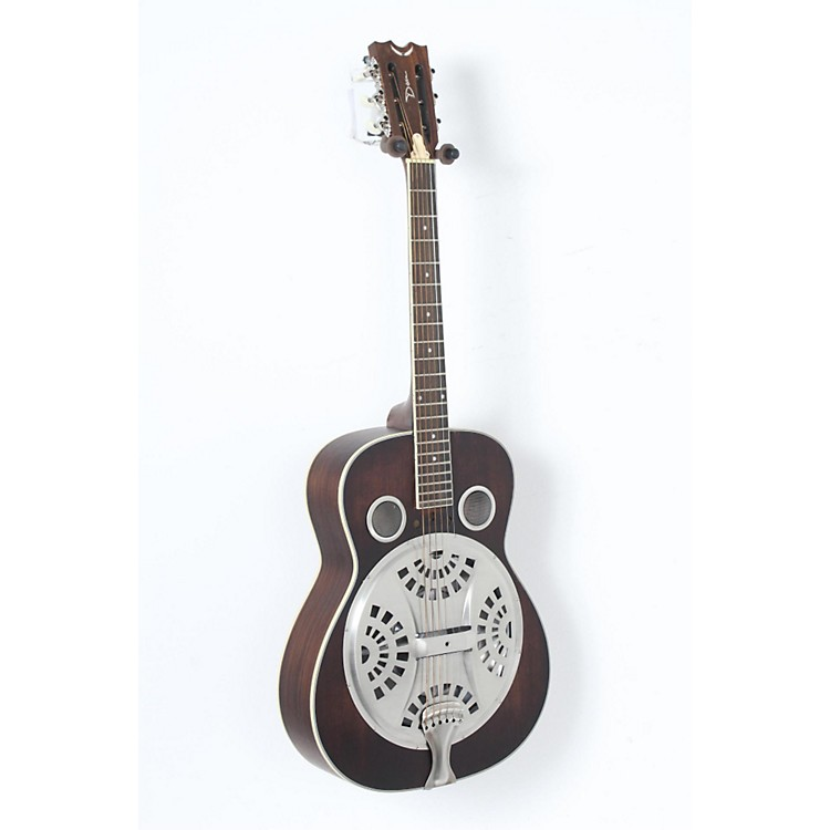 Dean Resonator Spider Acoustic Guitar Antique Distressed Natural Oil 888365906164