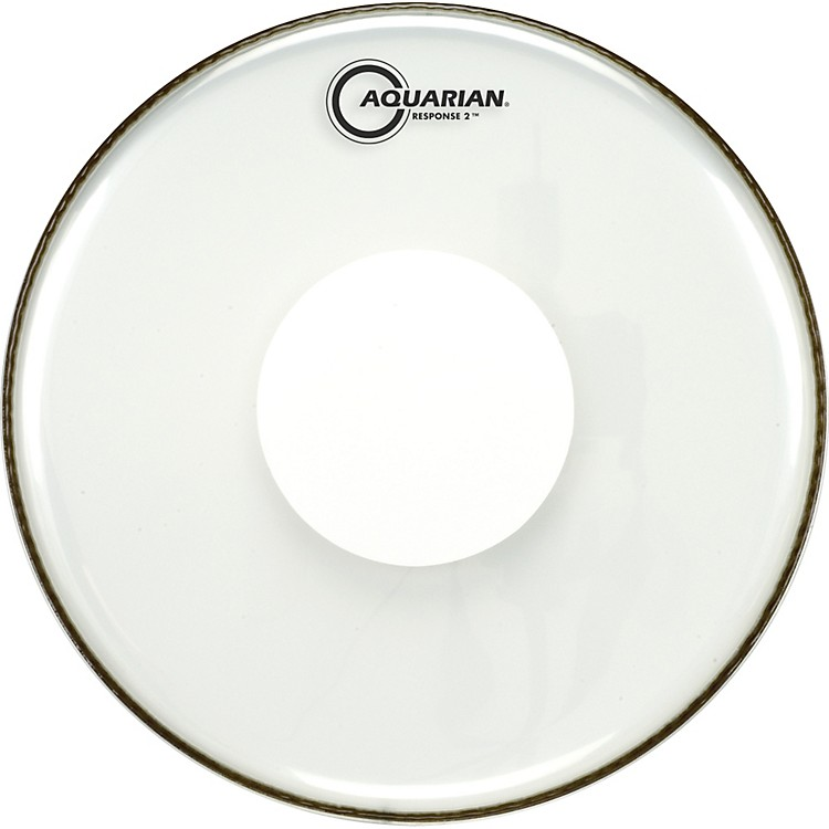 Aquarian Response 2 Power Dot Drumhead  12 in.
