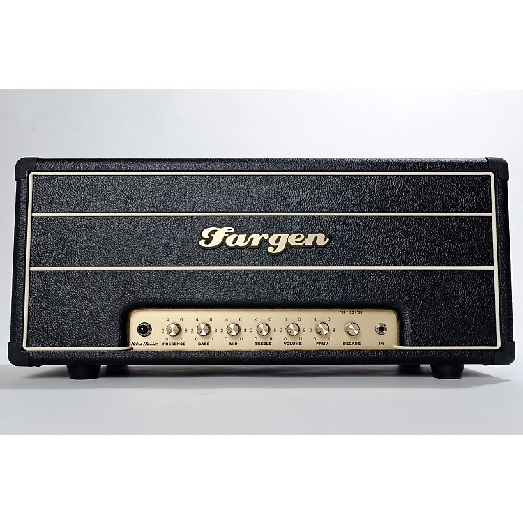 Fargen Amps Retro Classic Tube Guitar Amplifier Head Black