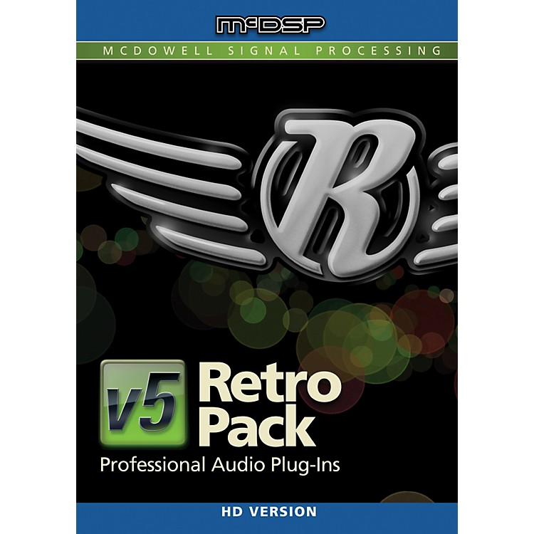 McDSP Retro Pack HD v5 Software Download