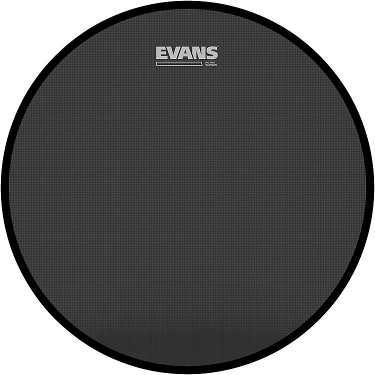 EvansRetro Screen Front Bass Head Black22 in.