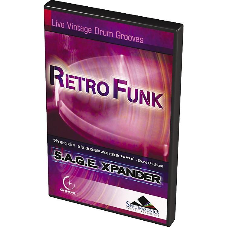 SpectrasonicsRetroFunk S.A.G.E. Xpander Live Vintage Drum Grooves