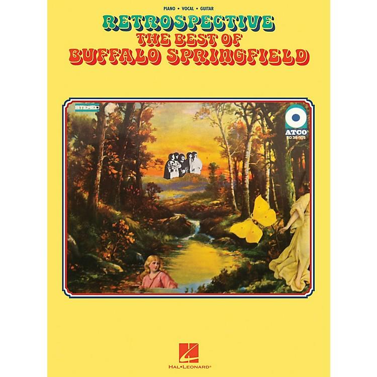 Hal LeonardRetrospective - The Best of Buffalo Springfield for Piano/Vocal/Guitar
