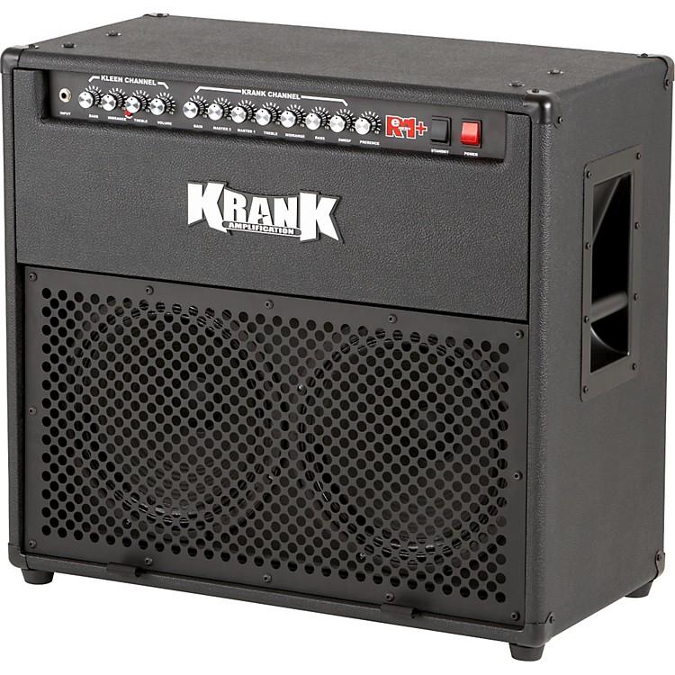 KrankRev+ 100W 2x12 Tube Guitar Combo AmpBlackBlack Grille