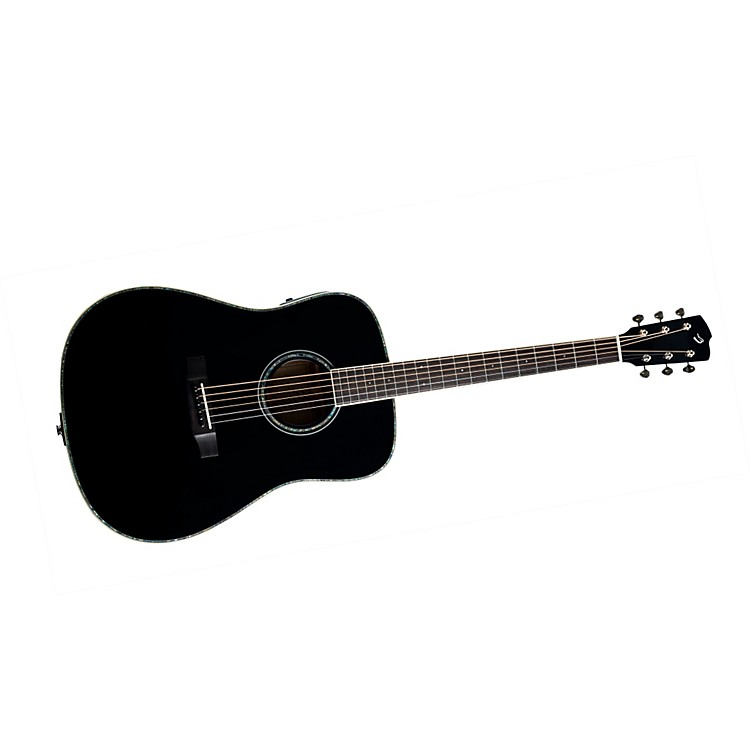Breedlove Revival Black Magic D/SMe Acoustic-Electric Guitar Black Magic