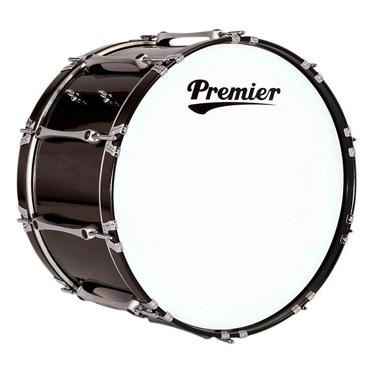 PremierRevolution Bass Drum24 x 14 in.Ebony Black Lacquer