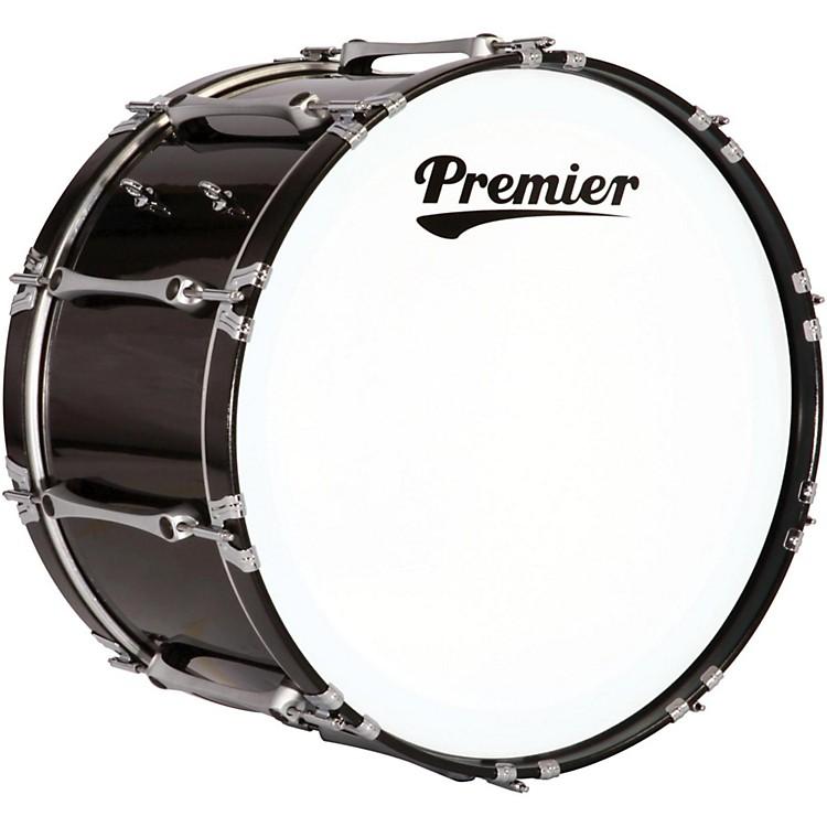 PremierRevolution Bass Drum30 x 14 in.Ebony Black Lacquer