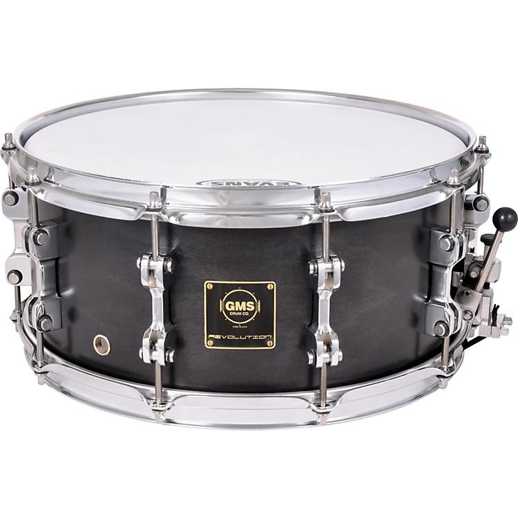 GMSRevolution Maple/Steel Snare Drum7 x 13Midnight Black