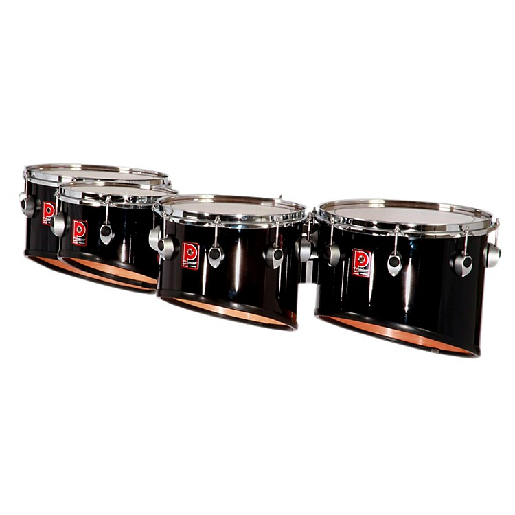 Premier Revolution Series Quads 10 in. Ebony Black Lacquer