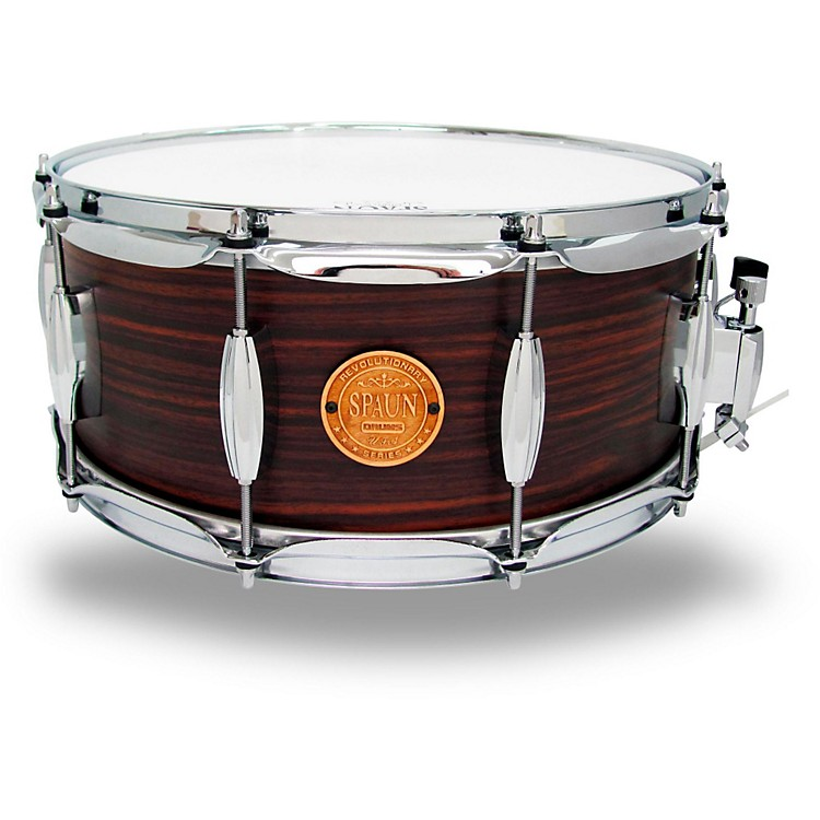 Spaun Revolutionary Snare Drum 14 x 6 in. Ebony Stain