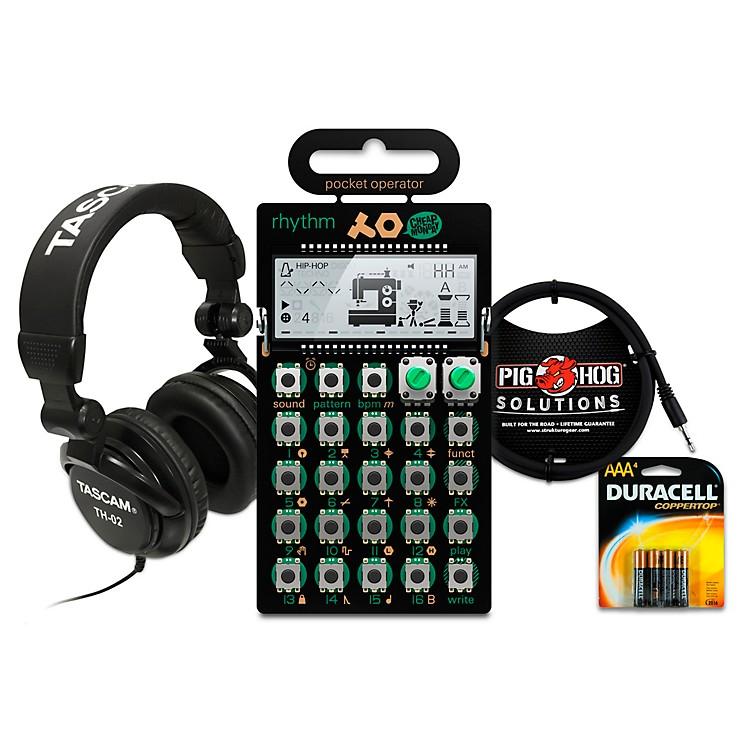 Teenage EngineeringRhythm Pocket Operator with Batteries, Headphones and Cable