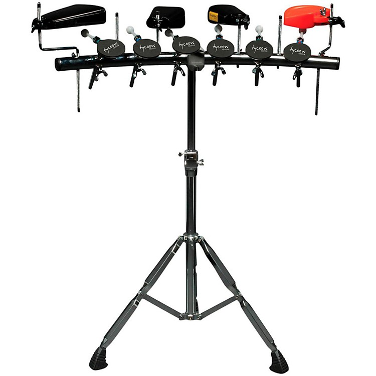 Tycoon Percussion Rhythm Rack Percussion Mounting System 6 Paddles