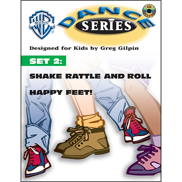 AlfredRhythm and Movement WB Dance Series Set 2: Shake Rattle and Roll and Happy Feet Book & CD Lyric/Choreography Pack