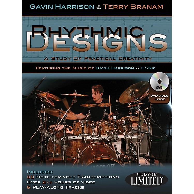 Hudson MusicRhythmic Designs By Gavin Harrison And Terry Branam Book/DVD