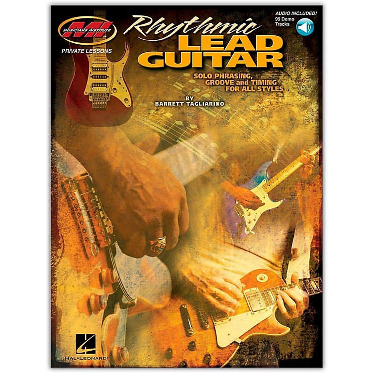 Hal Leonard Rhythmic Lead Guitar Book with CD