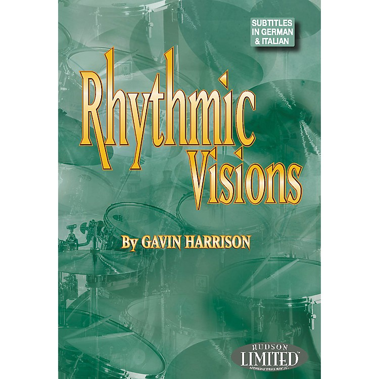 Hudson Music Rhythmic Visions DVD by Gavin Harrison