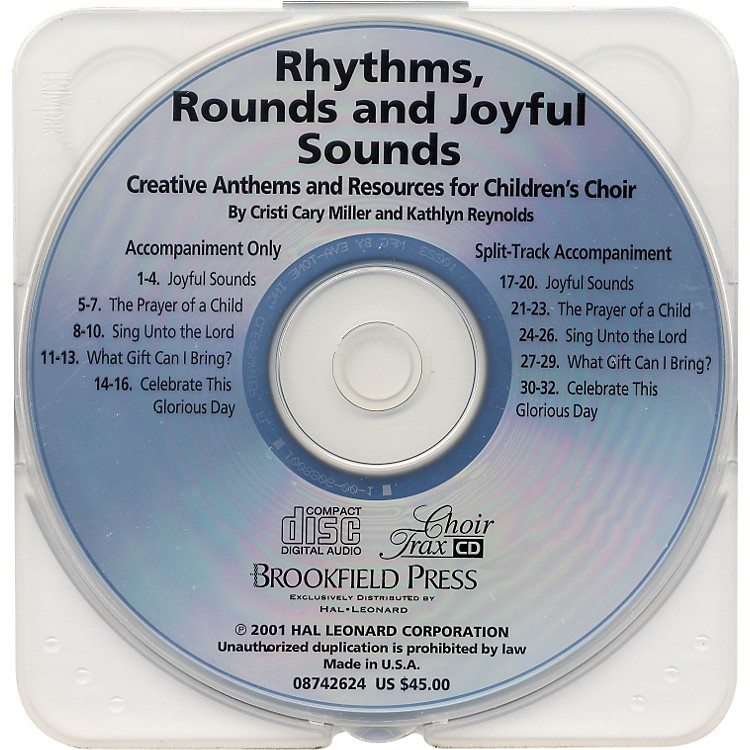 Hal Leonard Rhythms, Rounds And Joyful Sounds Choirtrax CD