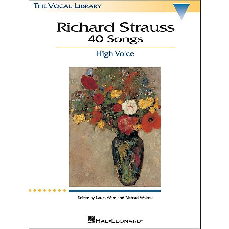 Hal LeonardRichard Strauss: 40 Songs for High Voice