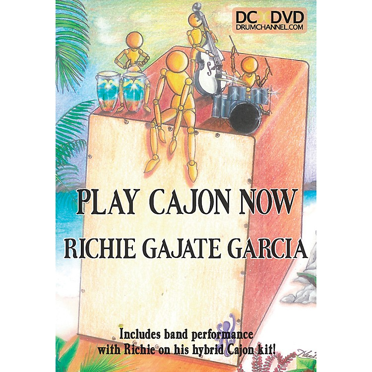 The Drum ChannelRichie Gajate-Garcia - Play the Cajon DVD