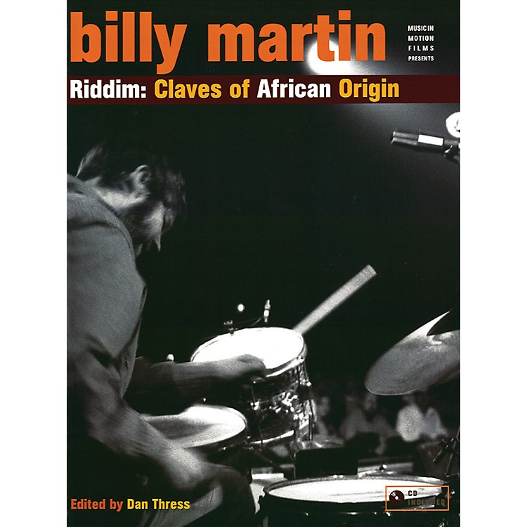 AlfredRiddim Claves African Origin - Billy Martin Book and CD Set