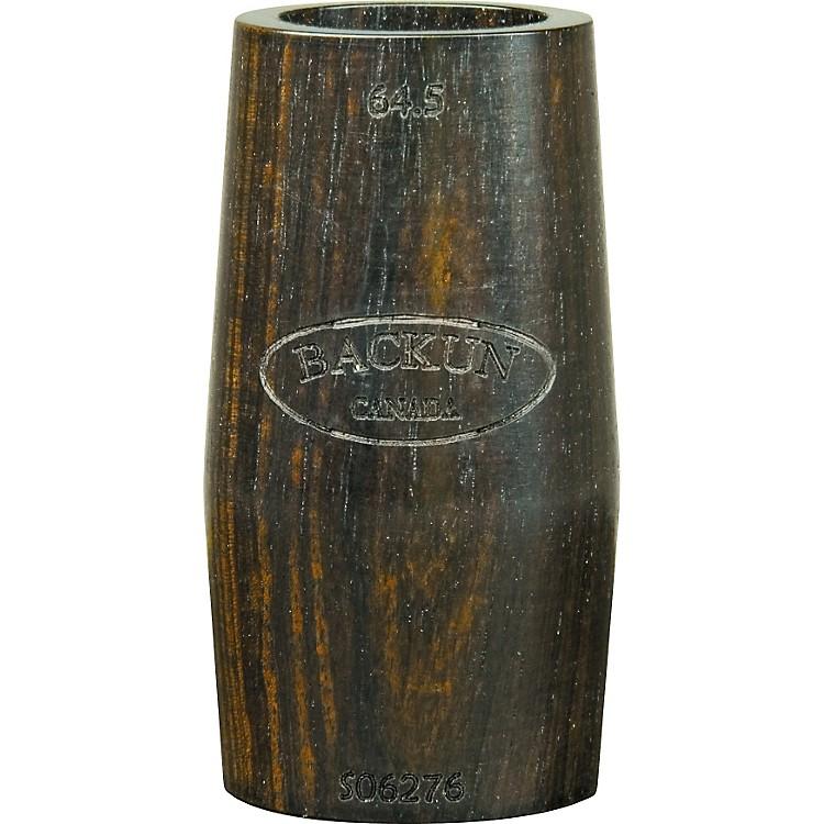 Morrie BackunRingless Grenadilla Clarinet Barrel64.5 mm