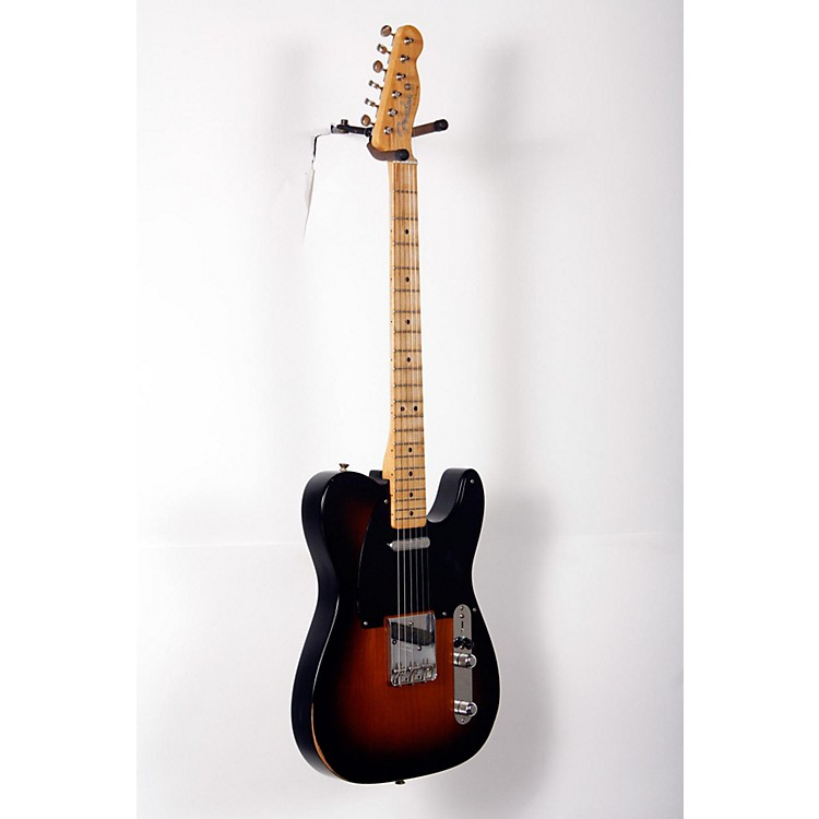 Fender Road Worn '50s Telecaster Electric Guitar 2-Color Sunburst 888365853536