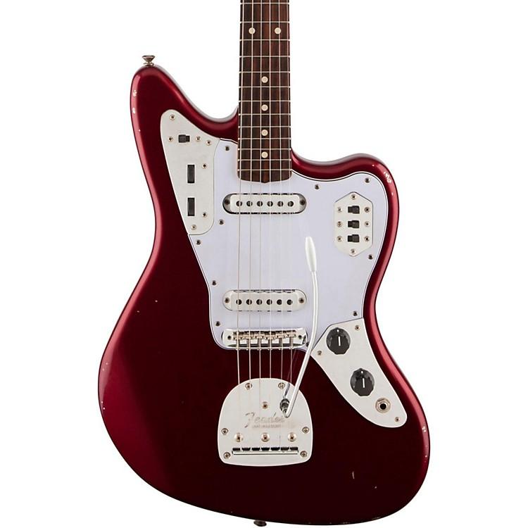 FenderRoad Worn '60s Jaguar Electric GuitarCandy Apple Red