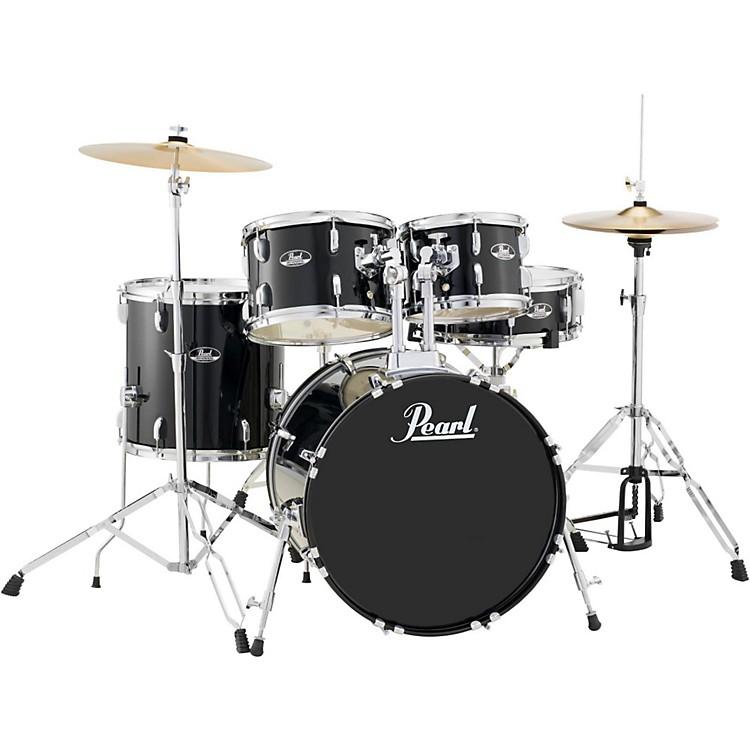 PearlRoadshow 5-Piece Fusion Drum SetJet Black