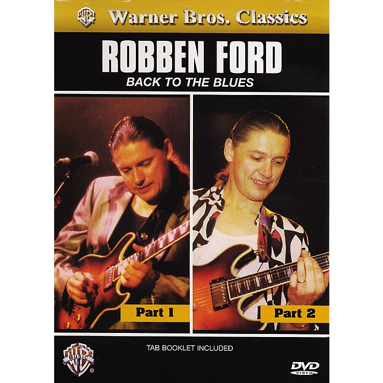 AlfredRobben ford Back to the Blues (DVD)