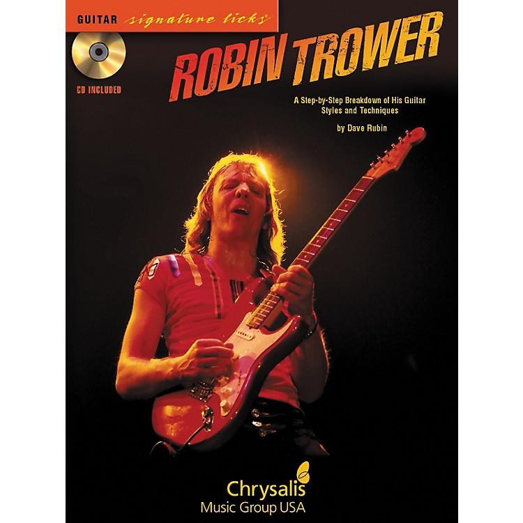 Hal LeonardRobin Trower Guitar Signature Licks (Book/CD)
