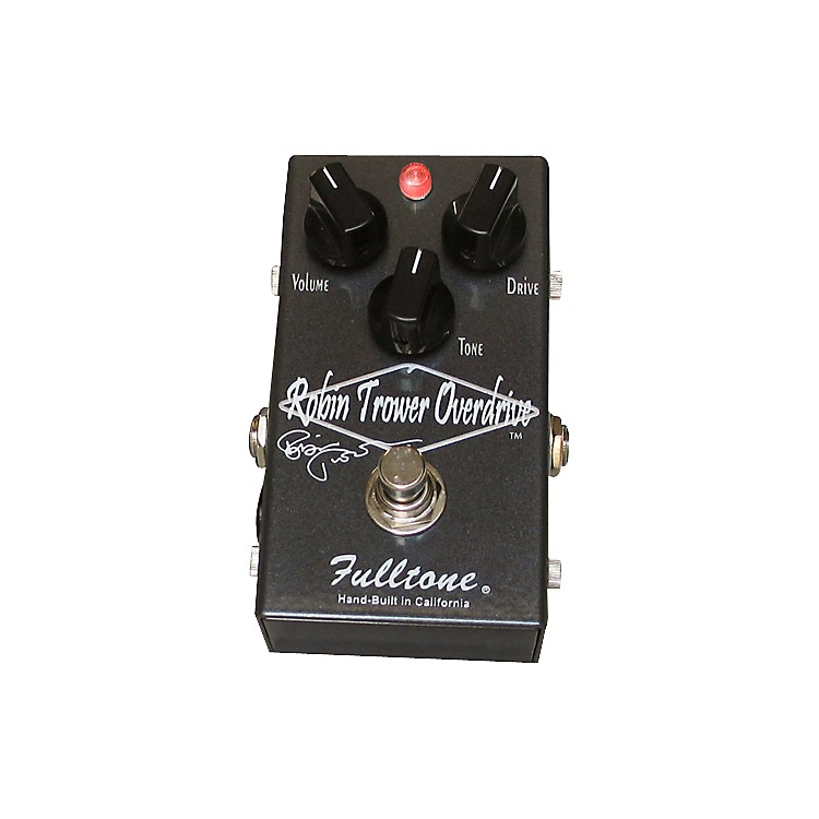 Fulltone Custom ShopRobin Trower Overdrive Guitar Effects PedalGrey