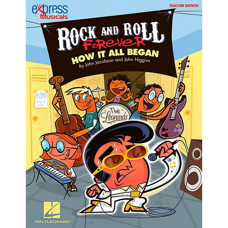 Hal LeonardRock And Roll Forever - How It All Began (A 30-Minute Musical Revue) Classroom Kit