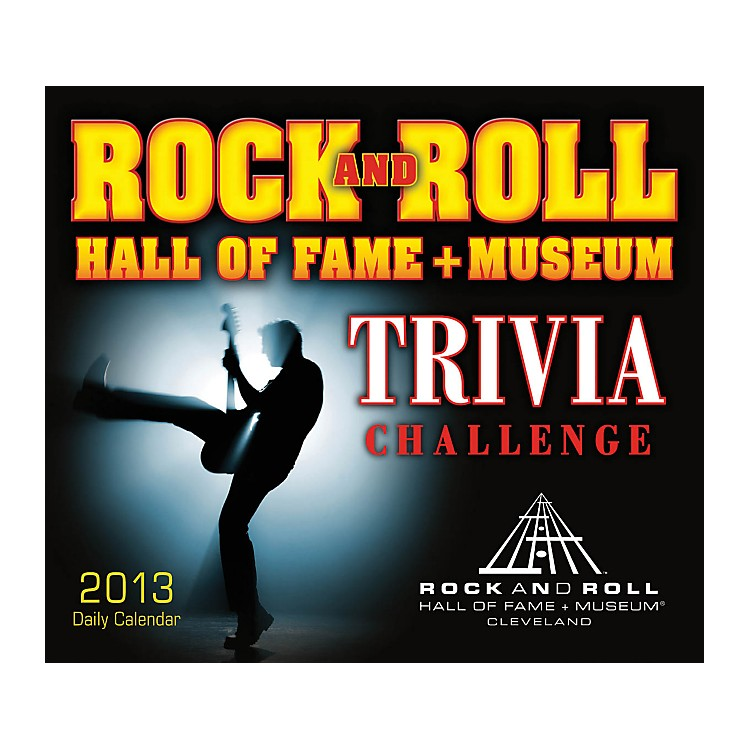 Hal LeonardRock And Roll Hall Of Fame Trivia Challenge 2013 Daily Boxed Calendar