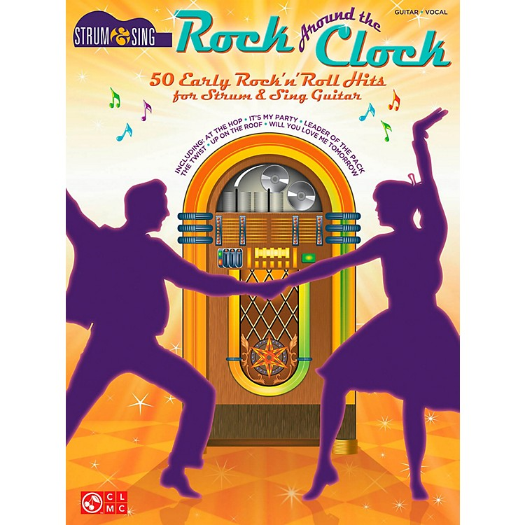 Cherry LaneRock Around The Clock - 50 Early Rock 'N' Roll Hits from Strum & Sing Guitar Series