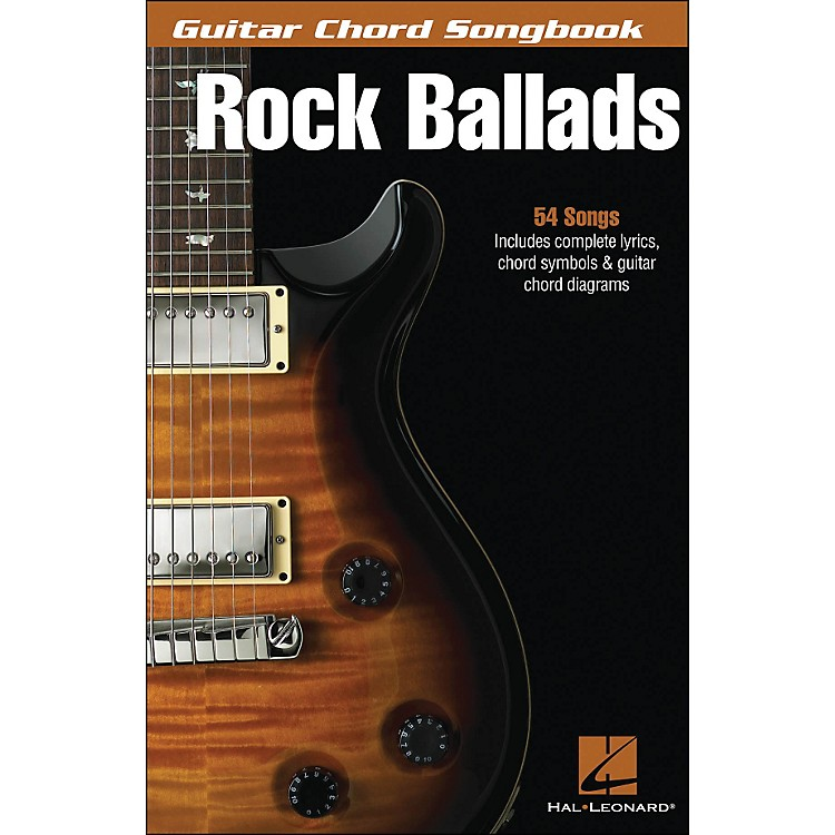 Hal LeonardRock Ballads - Guitar Chord Songbook