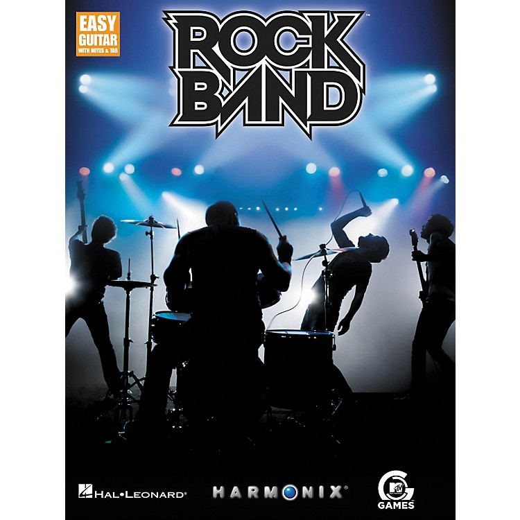 Hal LeonardRock Band - Easy Guitar with Tab