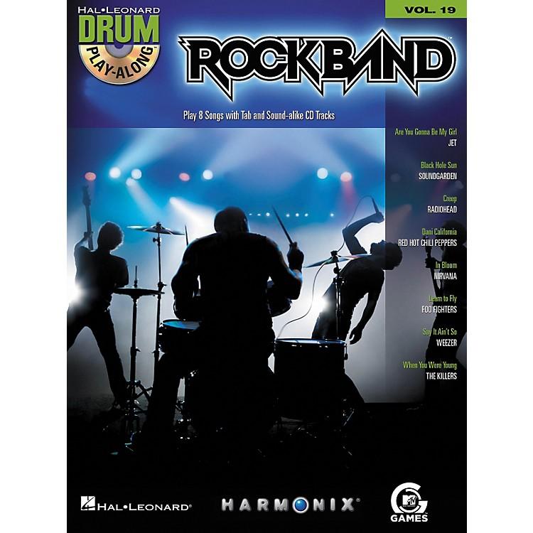 Hal LeonardRock Band - Modern Rock Edition - Drum Play-Along Volume 19 Book/CD Set