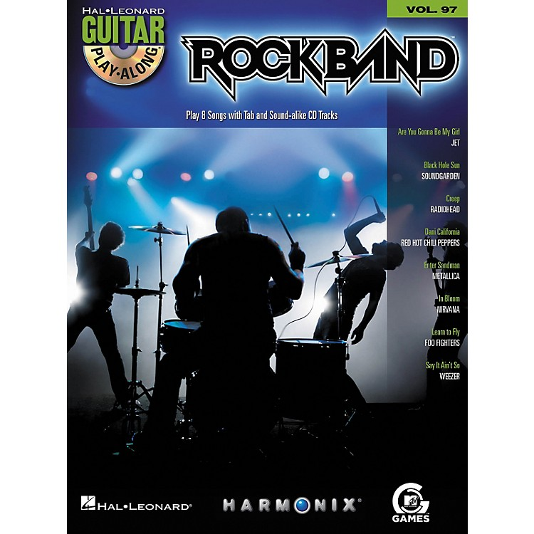 Hal LeonardRock Band - Modern Rock Edition - Guitar Play-Along Volume 97 Book/CD Set